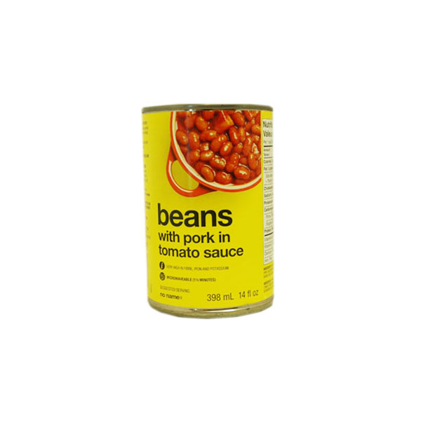 No Name Beans with Pork in Tomato Sauce