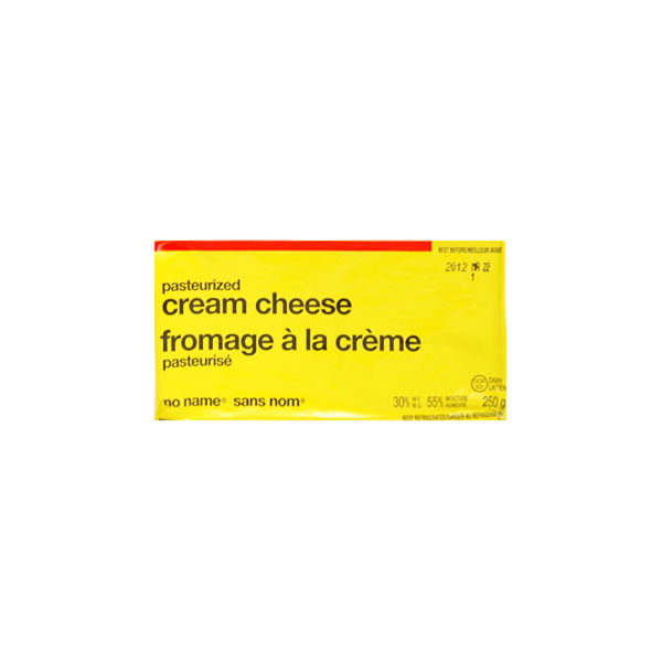 No Name Cream Cheese