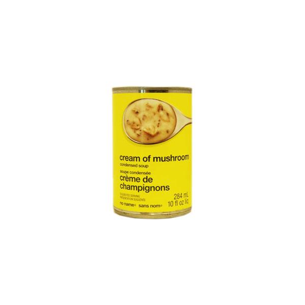 No Name Cream of Mushroom Soup