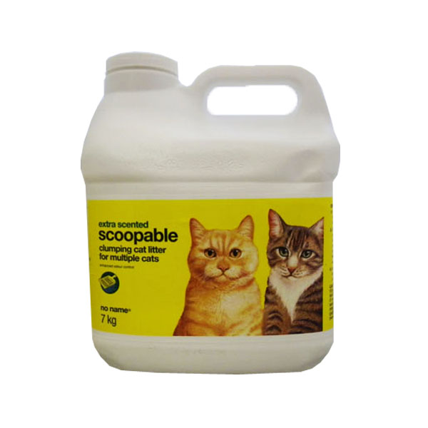 No Name Extra Scented Clumping Cat Litter