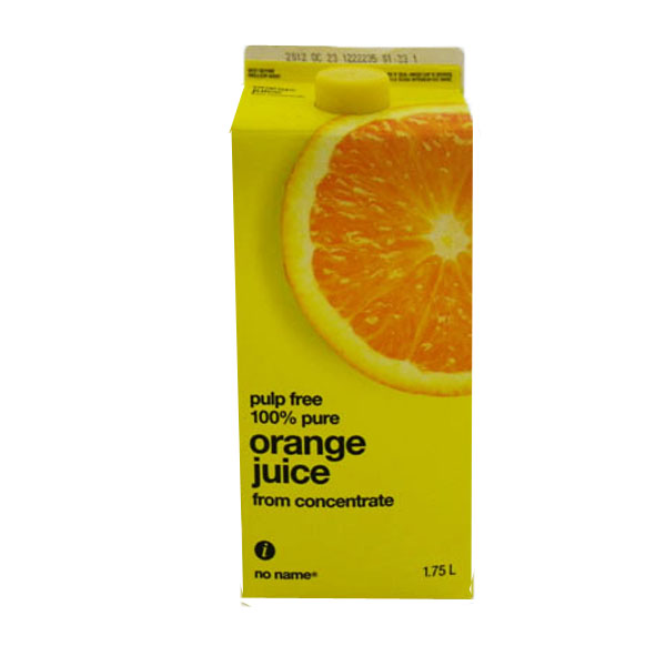 No Name Orange Juice - 2L