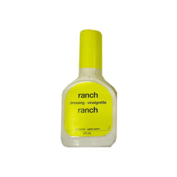 No Name Ranch Dressing