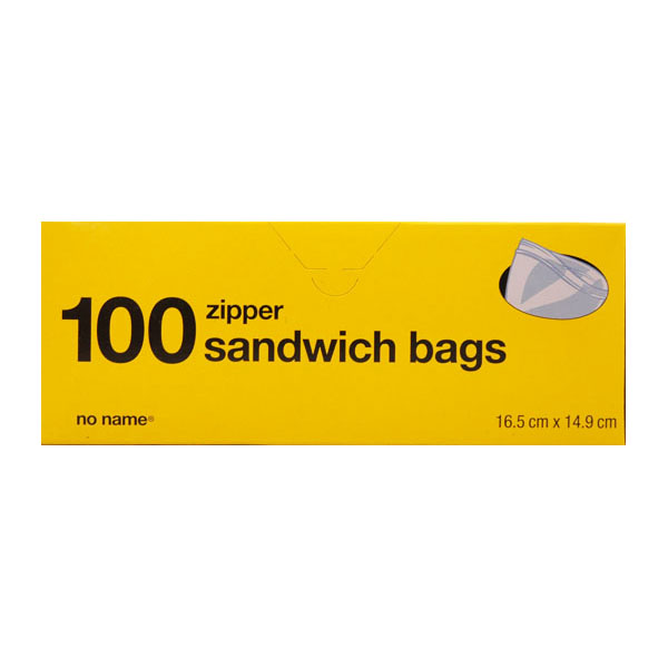 No Name Sandwich Bags