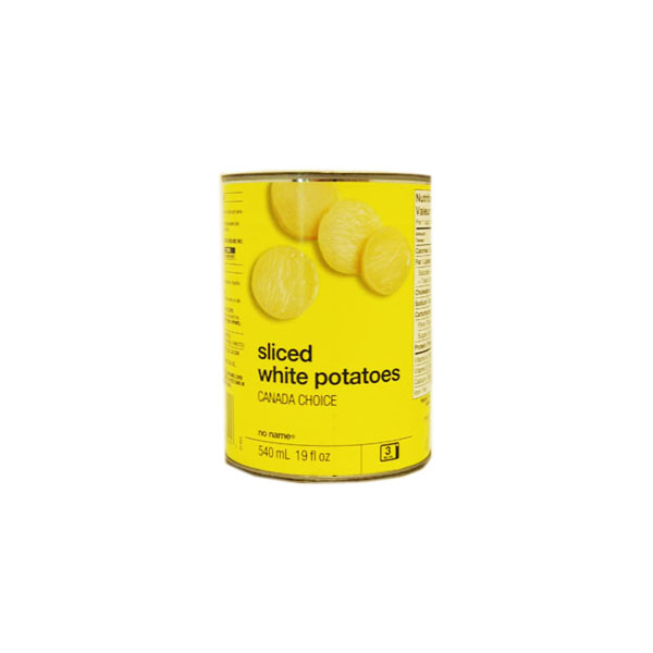 No Name Sliced White Potatoes