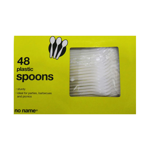 No Name Plastic Spoons