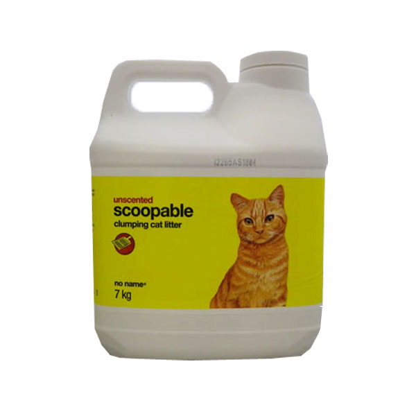 No Name Unscented Scooping Clumping Cat Litter
