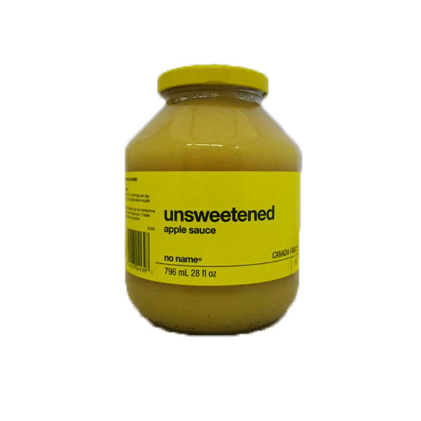 No Name Unsweetened Apple Sauce