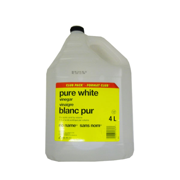 No Name White Vinegar - club size