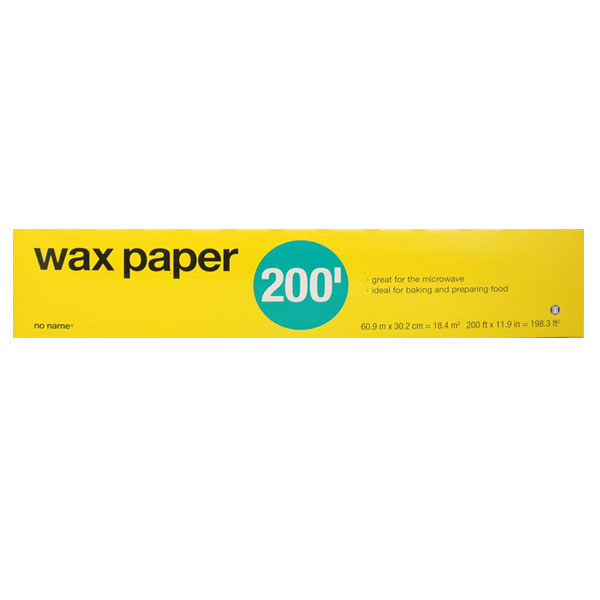 No Name Wax Paper