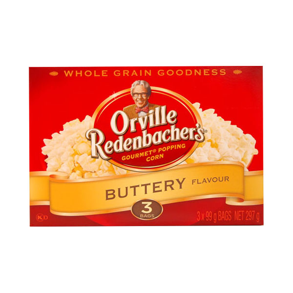 Orville Redenbachers 3 Pouch Buttery Popcorn