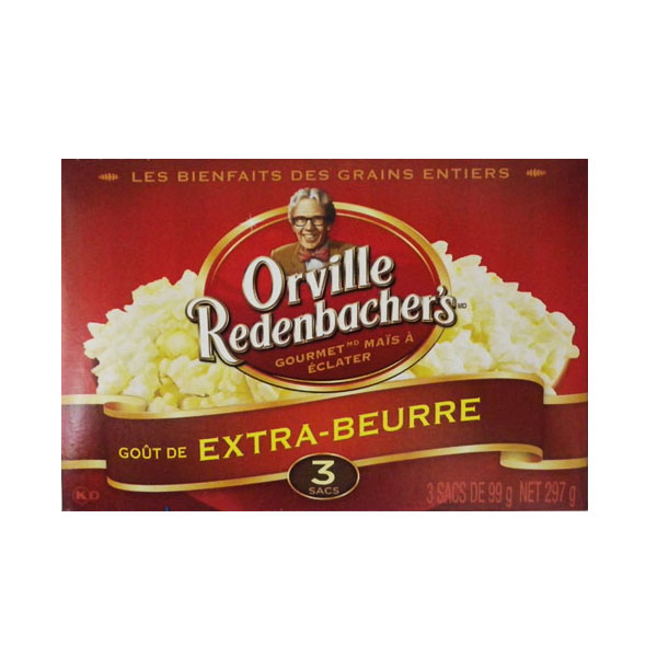 Orville Redenbachers 3 Pouch Extra Buttery Popcorn