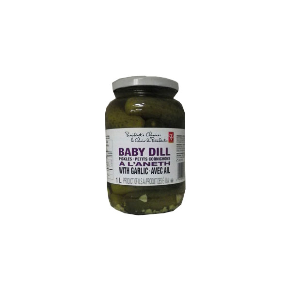 President's Choice Baby Dill Pickles