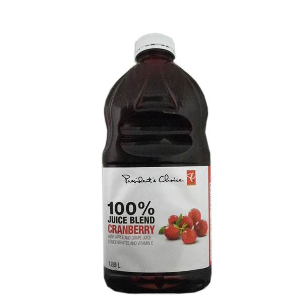 President's Choice Cranberry Juice Blend