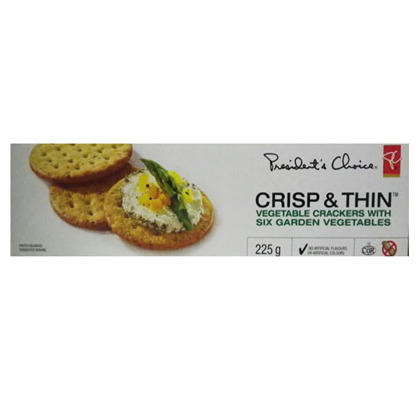 P.C Crisp and Thin Six Garden Vegetable