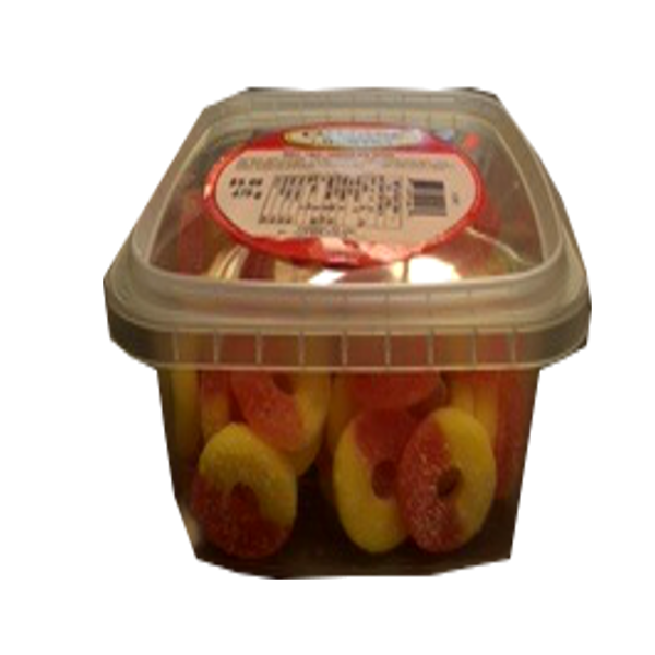 COTTAGE COUNTRY CANDY PEACH RING TUB