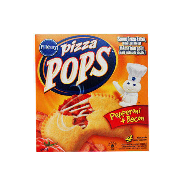 Pizza Pops - Pepperoni & Bacon