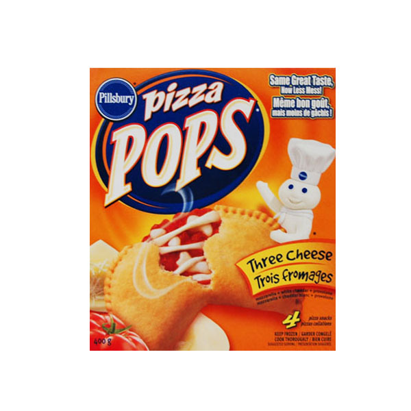 Pizza Pops - Three Cheese