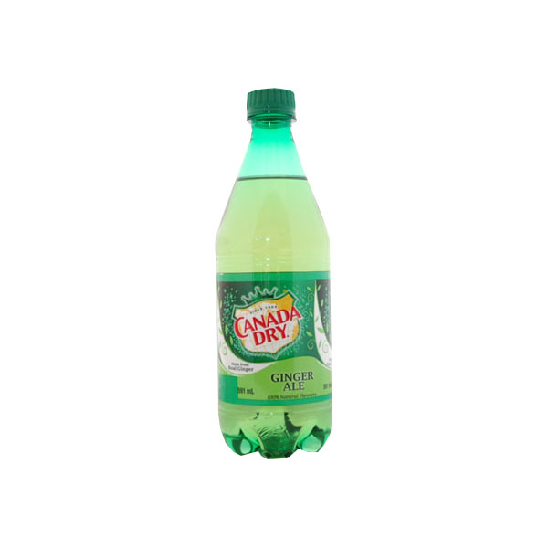 Canada Dry Gingerale 591 mL Bottle