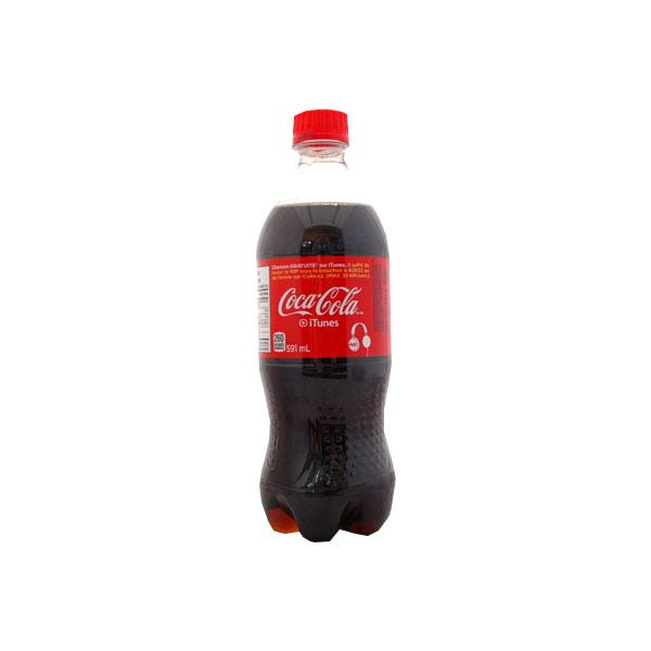 Coke 591 mL Bottle