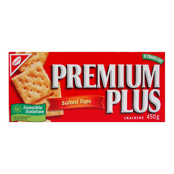 Premium Plus Salted Soda Crackers