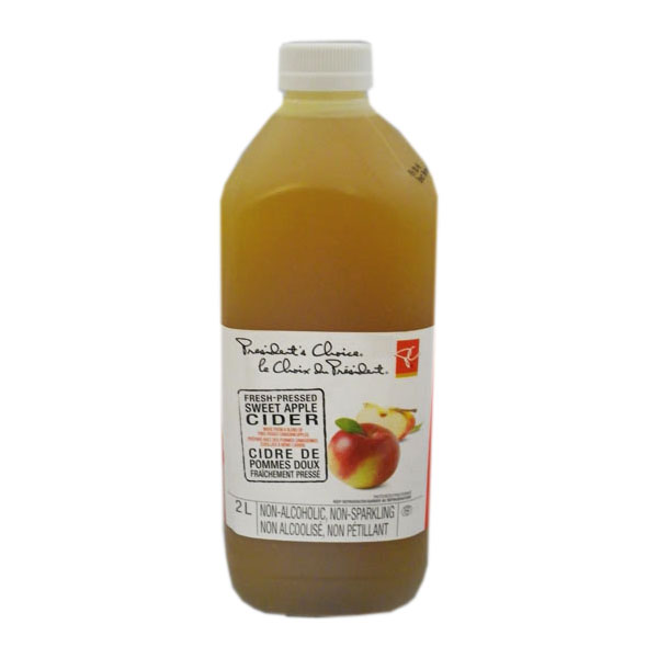 President's Choice Apple Cider