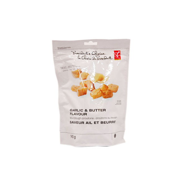 President's Choice Garlic Butter Croutons