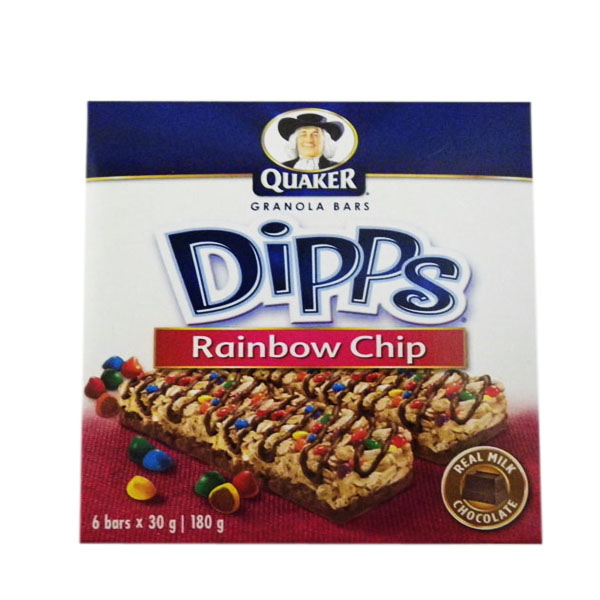 Quaker Dips Rainbow Chip
