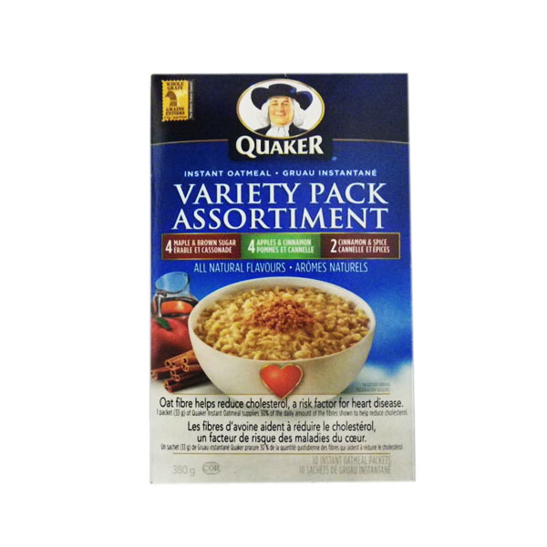 Quaker Variety Pack Oatmeal