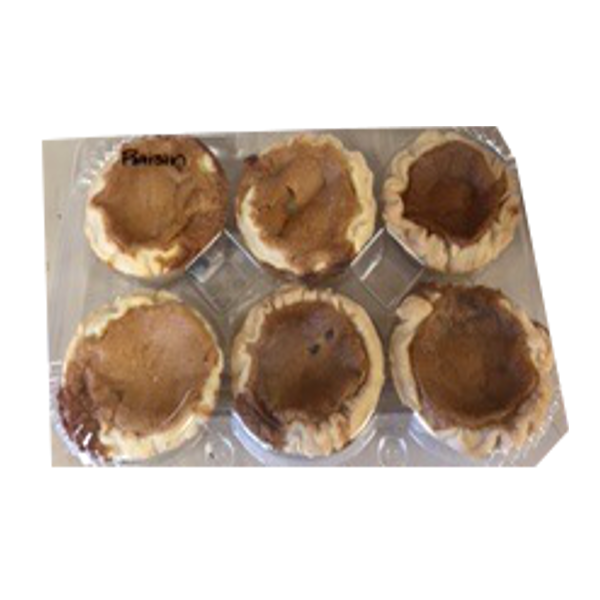 BUTTER TARTS BETTY'S RAISIN 6 PACK