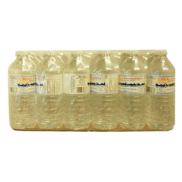Real Canadian Water - 24 pack