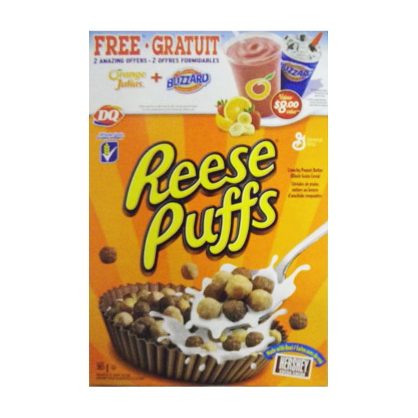 Reese Puffs Cereal