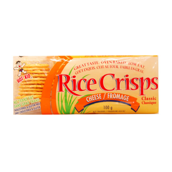 Rice Crisps Cheese Rice Crackers