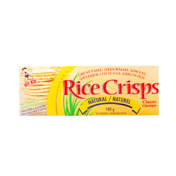 Rice Crisps Natural Rice Crackers