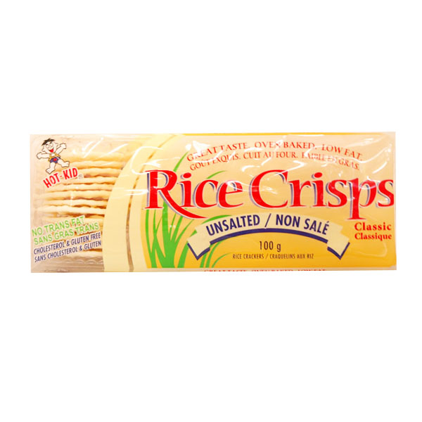 Rice Crisps Unsalted Rice Crackers