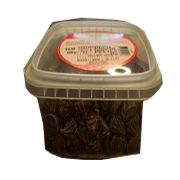 COTTAGE COUNTRY CANDY CHOCOLATE ROSEBUDS TUB