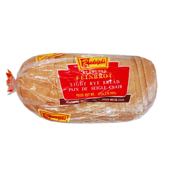 Rudolph's Light Rye Bread