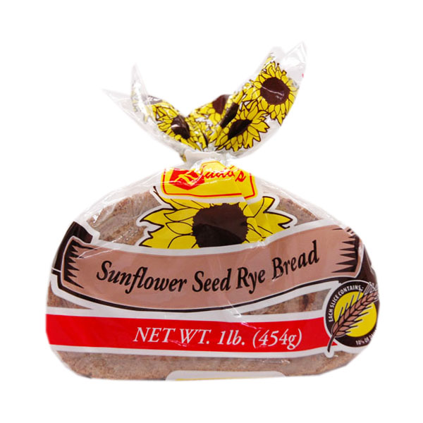 Rudolph's Sunflower Seed Rye Bread