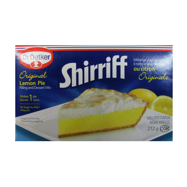 Shirriff Lemon Pie Filling