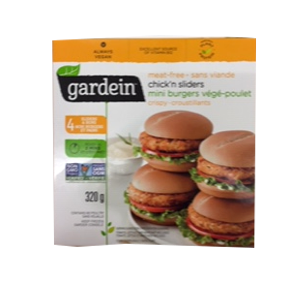 GARDEIN MEATFREE CHICK'N SLIDERS