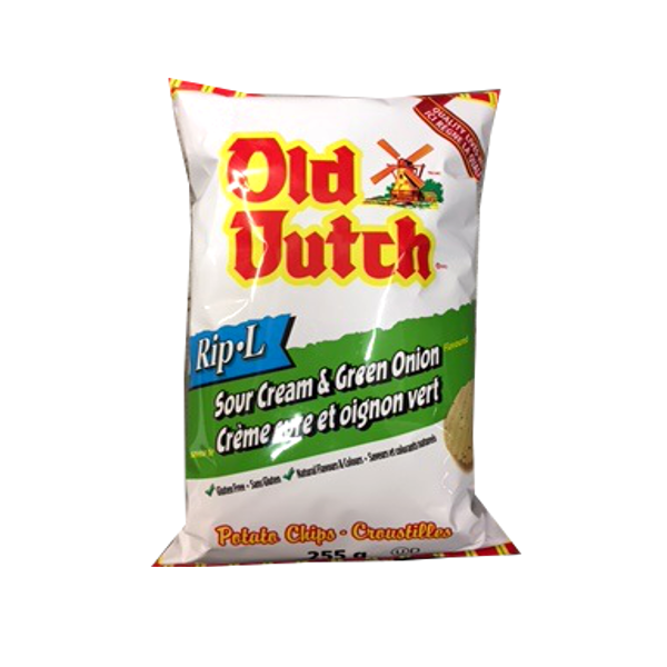 OLD DUTCH SOUR CREAM N ONION