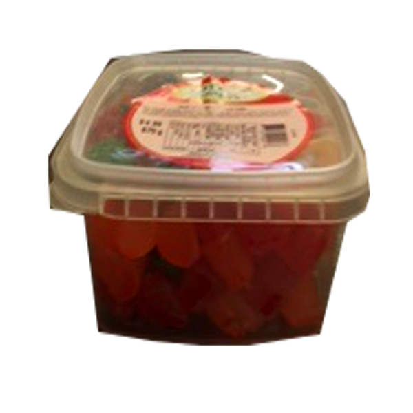 COTTAGE COUNTRY CANDY SOUR JU JUBES TUB