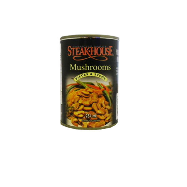 Steakhouse Canned Mushrooms