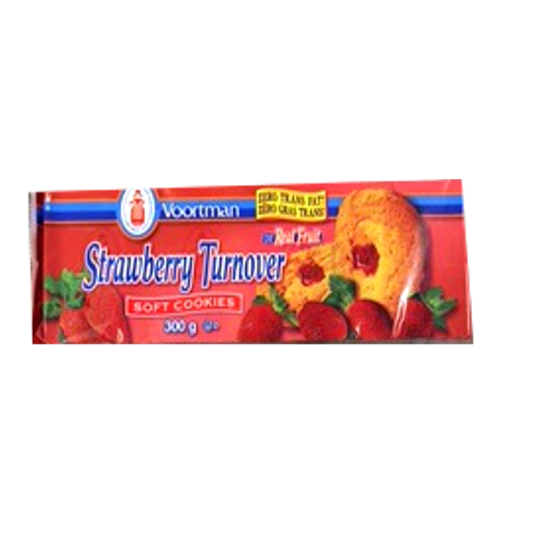 Voortman Soft Strawberry Filled Cookies