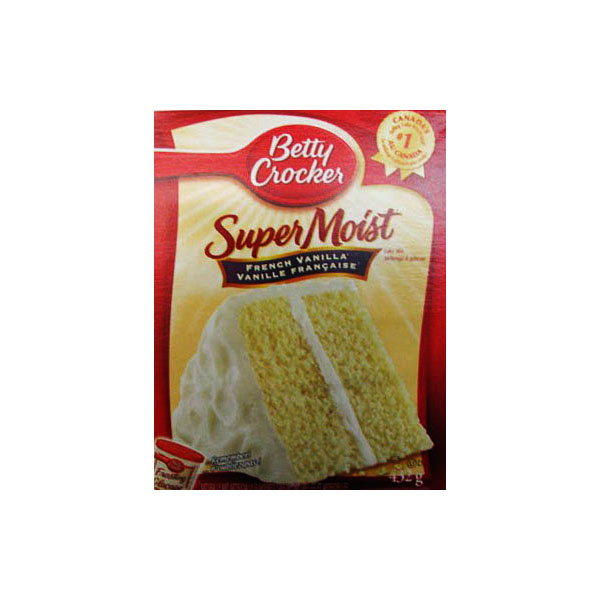 Betty Crocker Super Moist French Vanilla Cake Mix