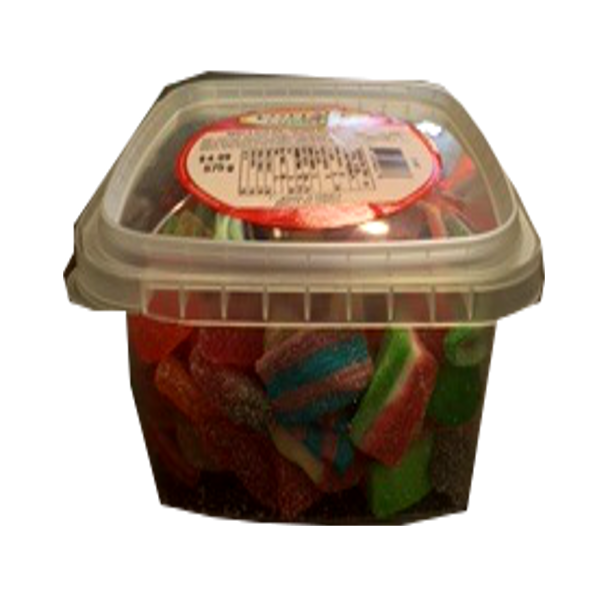 COTTAGE COUNTRY CANDY SWEET & SOUR MIX TUB