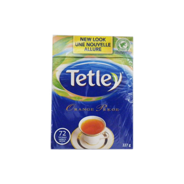 Tetley Orange Pekoe 72 Bags