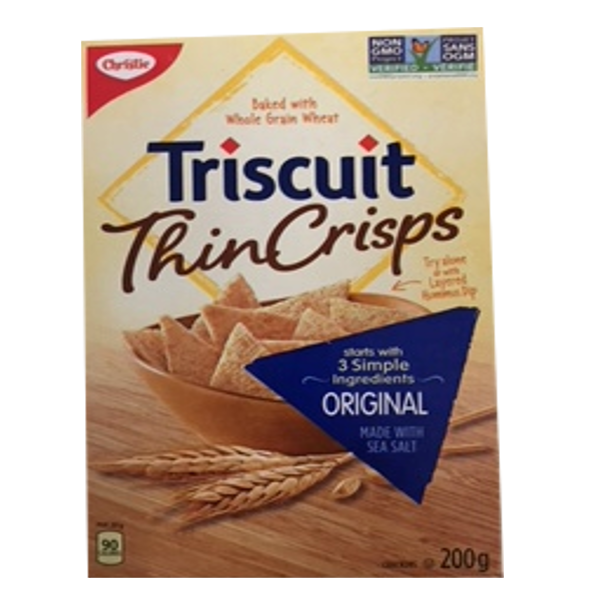 TRISCUIT THIN CRISPS ORIGINAL