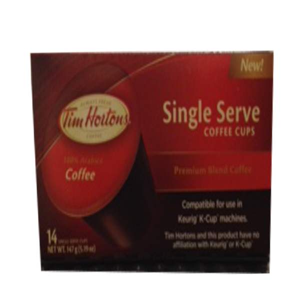 Tim Horton Premium Blend K-Cup Coffee