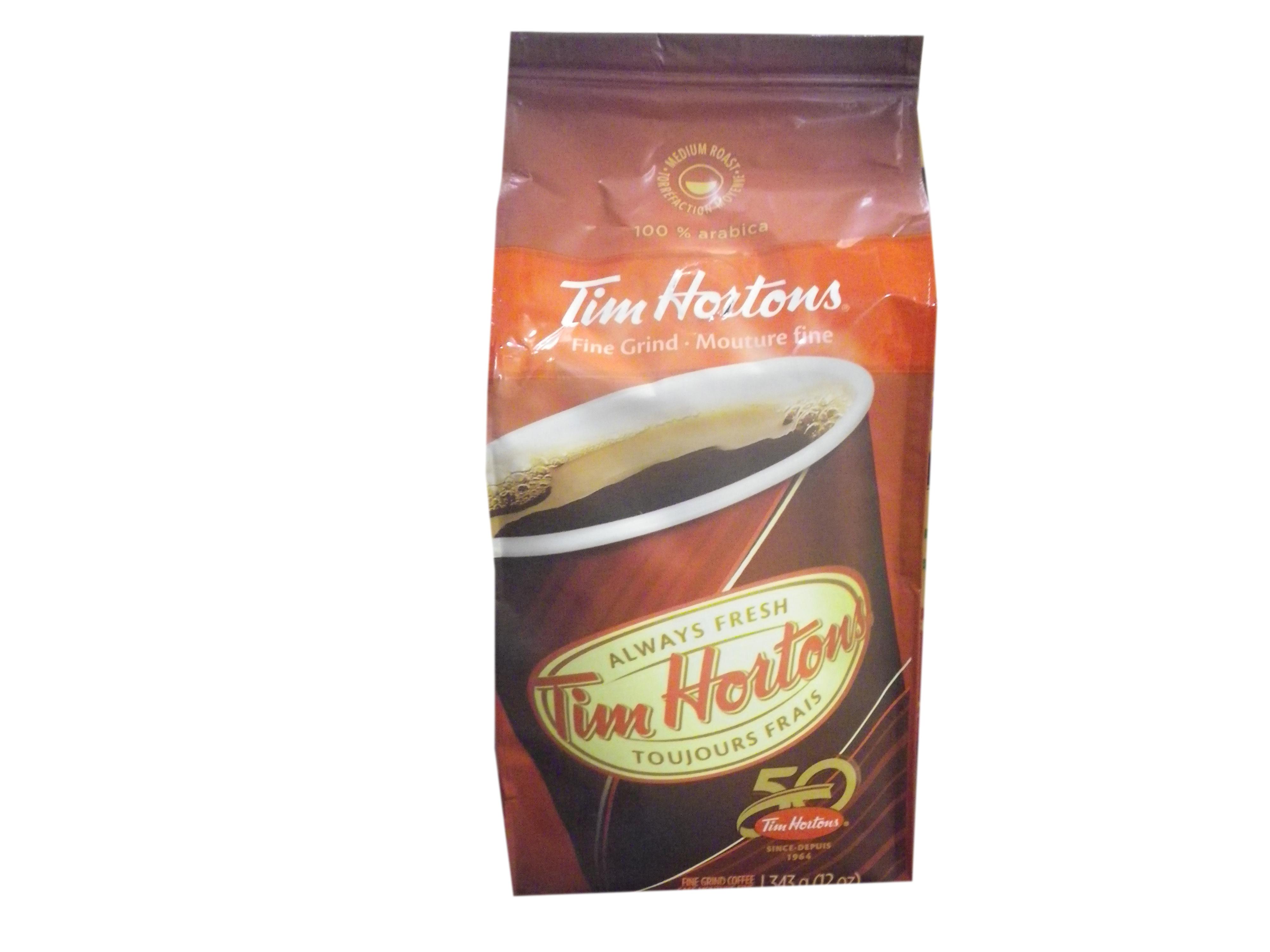 Tim Hortons Fine Grind Coffee