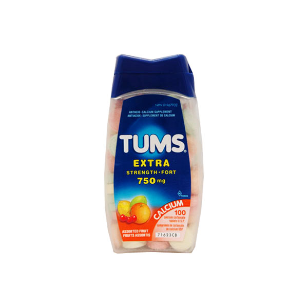 Tums Extra Strength - Assorted Fruit